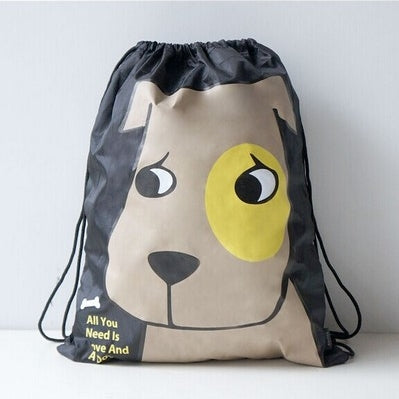 Drawstring [Dog] Backpack By U-Pick
