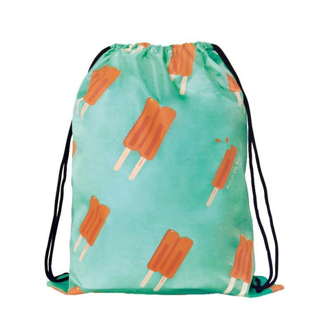 Drawstring [Popsicle] Backpack By U-Pick