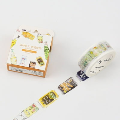 Cold Drinks Washi Tape