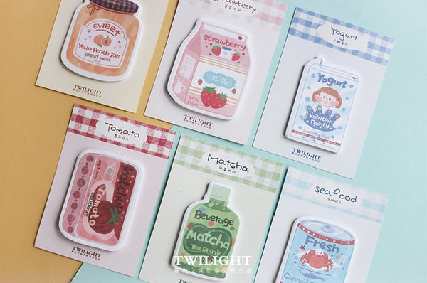 Eat Drink [Canned Seafood] Sticky Notes