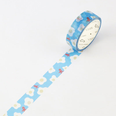 Egg & Sausage Washi Tape