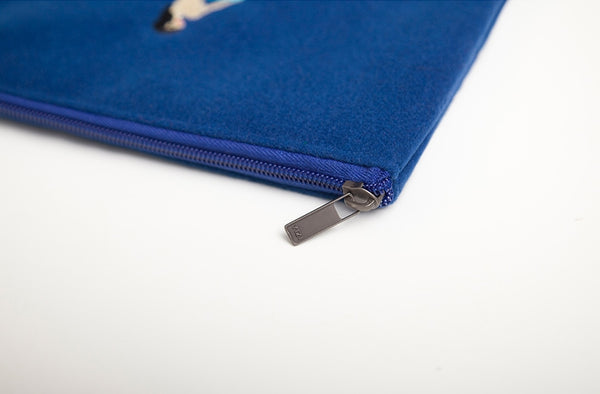 Embroidered [Gas] Sleeve Pouch By YIZI STORE