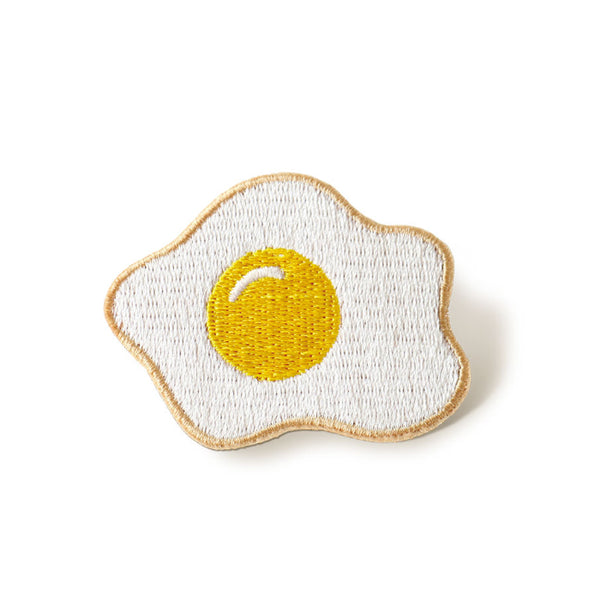 Embroidery Egg Brooch By U-Pick