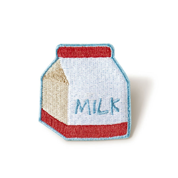 Embroidery Milk Brooch By U-Pick