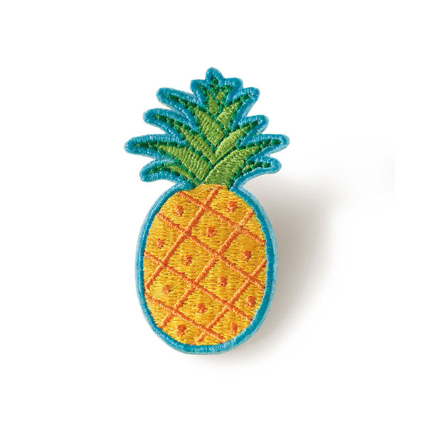 Embroidery Brooch Pineapple By U-Pick