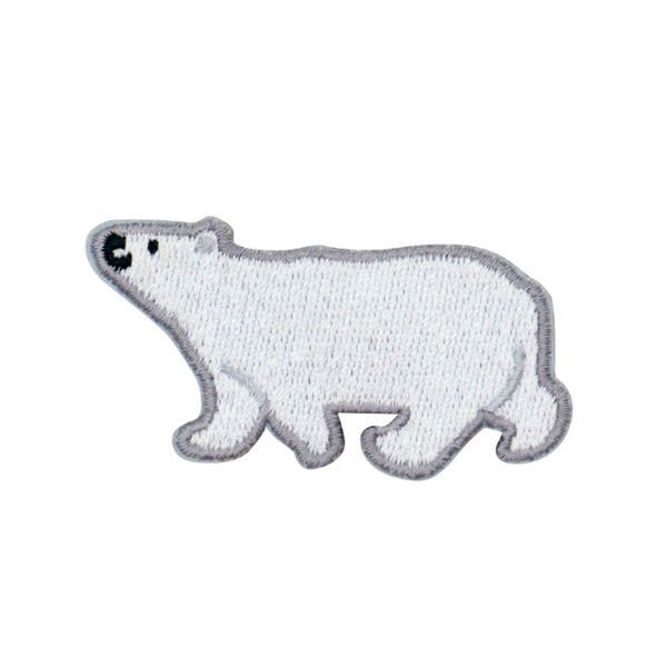 Embroidery Brooch Polar Bear By U-Pick