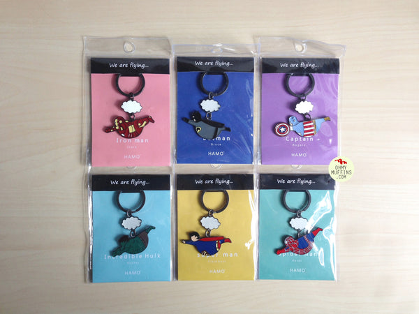 Fat Superhero [Captain America] Key Chain By HAMO