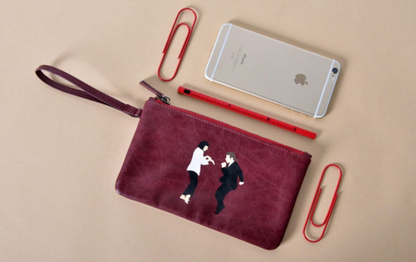 Pulp Fiction Flat Case Pouch by Kiitos