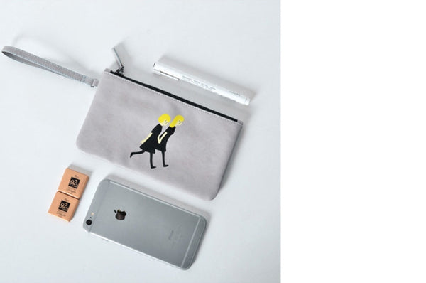 Girlfriend Flat Case Pouch by Kiitos Life