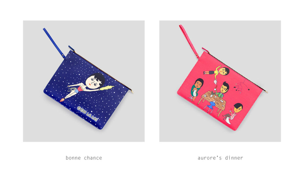 Flat Case Pouch by Ooh La La!