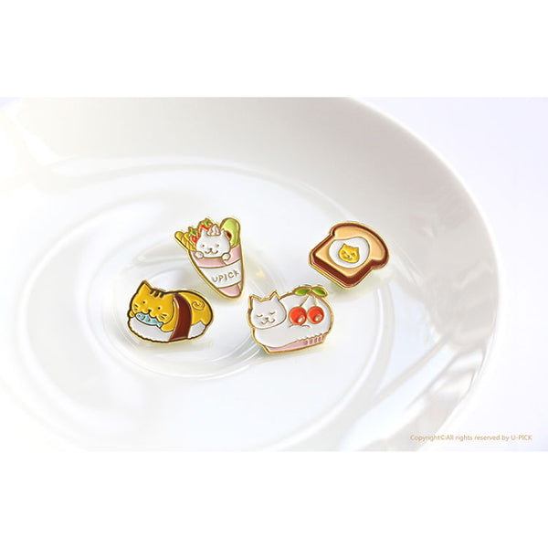 Food Cat [Cupcake] Pin By U-Pick [Defective Piece]