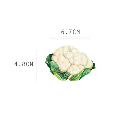 Vegetables [Cauliflower] Sticky Notes