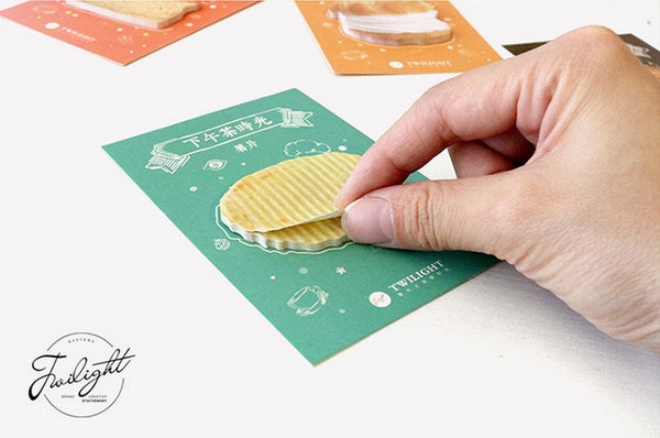 Snacks Sticky Notes