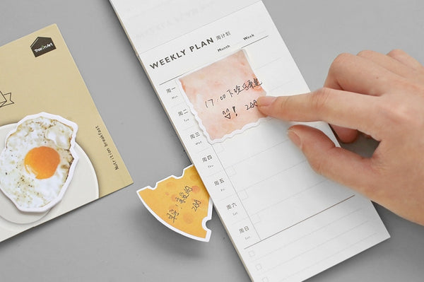 Breakfast Food Sticky Notes