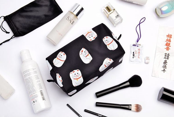 Fortune Cat Tokyo Box Pouch By Kiitos Life