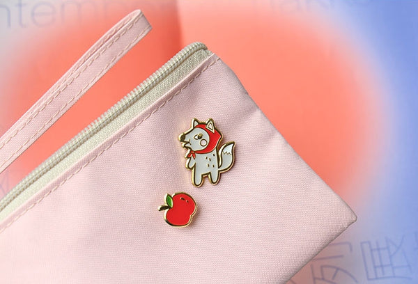 Animal [Fox Apple] Pin By U-Pick