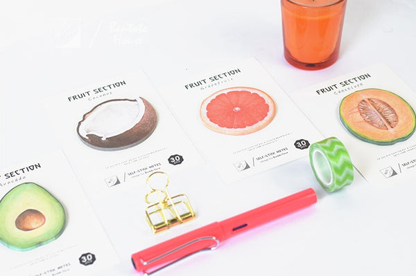Fruits Sticky Notes