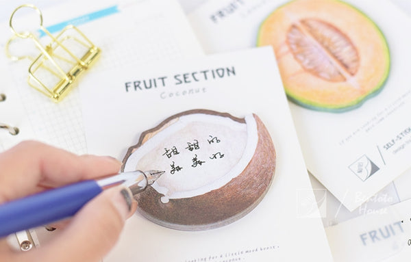 Fruits [Coconut] Sticky Notes