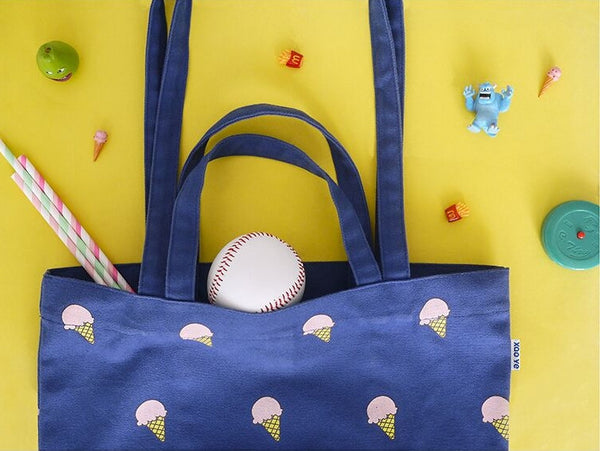Ice Cream Fun Food Tote Bag