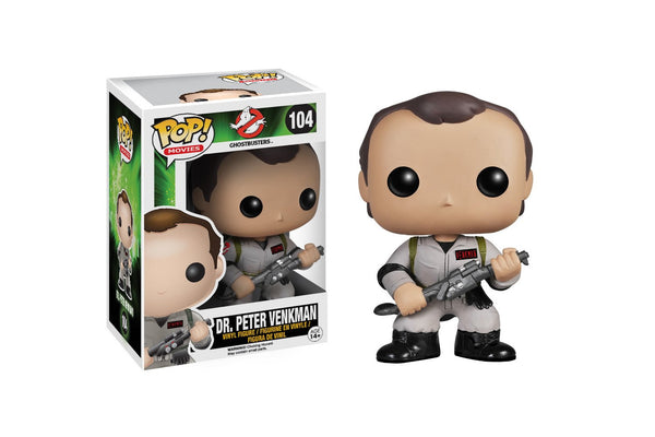 Funko Pop Movies Ghostbusters Dr. Peter Venkman