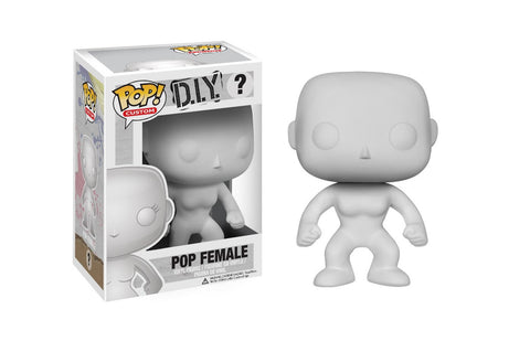 Funko Pop Custom D.I.Y. Pop Female
