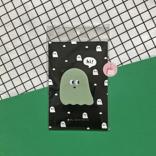 Funny Face Ghost Sticky Notes