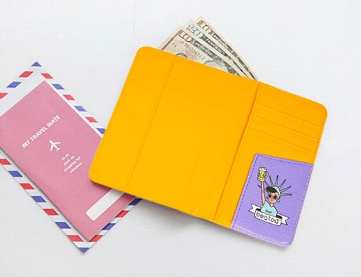 Quirky [Yellow] Passport Cover By Bentoy