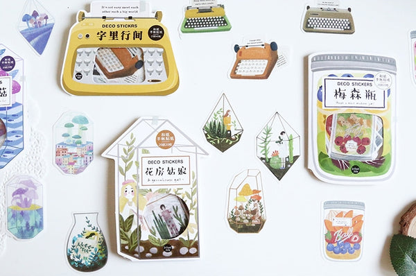Garden The Greenhouse Girl Sticker Pack