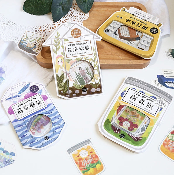 Garden [Typewriter] Stickers Pack