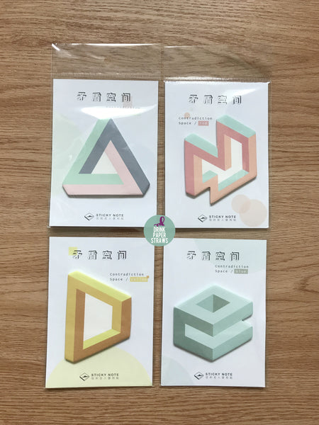 Geometric [G1] Sticky Notes