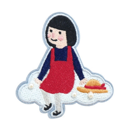 Girl Brooch S2 Girl On Cloud By U-Pick
