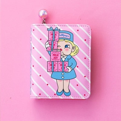 Girl Short Wallet Patisserie By Milkjoy