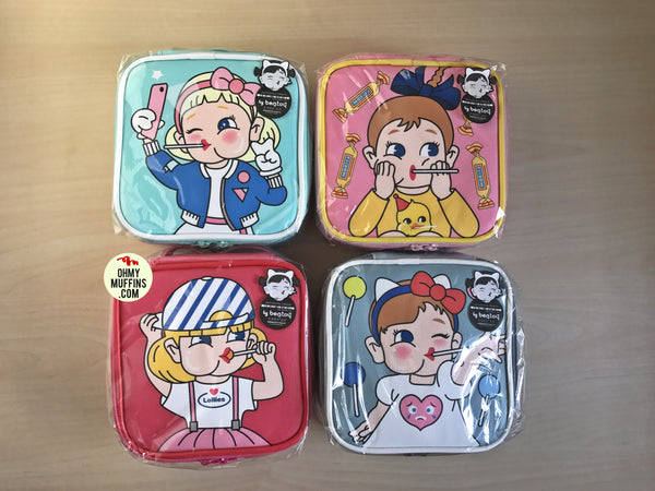 Girl [Lettie] Square Travel Pouch By Bentoy