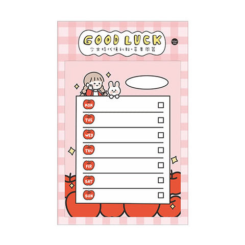Girls Generation [Good Luck] Sticky Notes