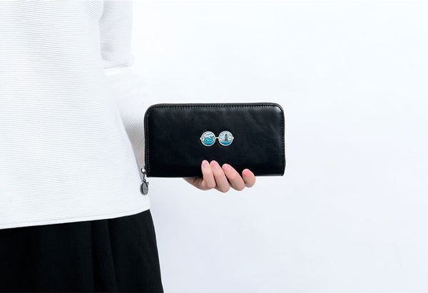 Glasses Encounter Long Wallet By Kiitos Life