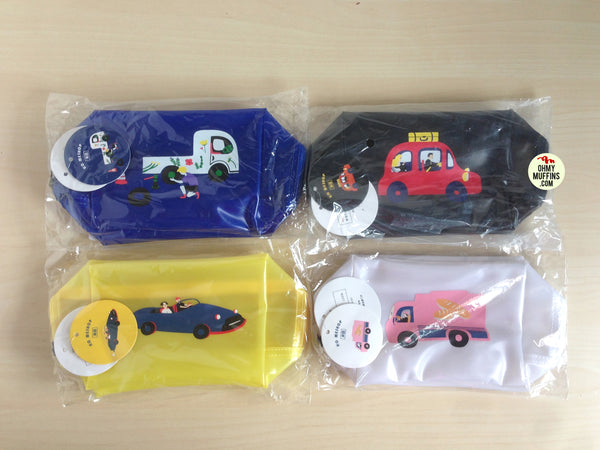 Good Driving [Taxi] Pouch By YIZI STORE X KOMESHOP