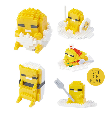 TICO Gudetama - Set of 5