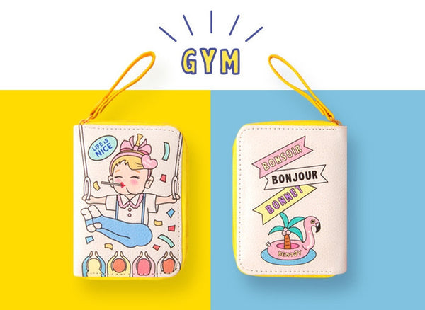 Gym Girl Card Box By Bentoy