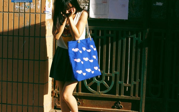 Swimming Animals Tote Bag by HAMO - OUT OF PRODUCTION