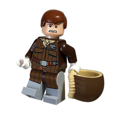 Lego Star Wars Han Solo (Hoth) Minifigure Polybag
