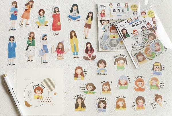 Harajuku [Thank You] Stickers Pack