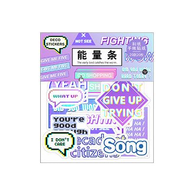 Harajuku Fighting Sticker Pack