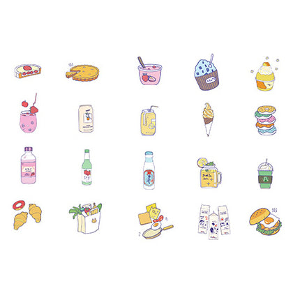 Harajuku Food Sticker Pack