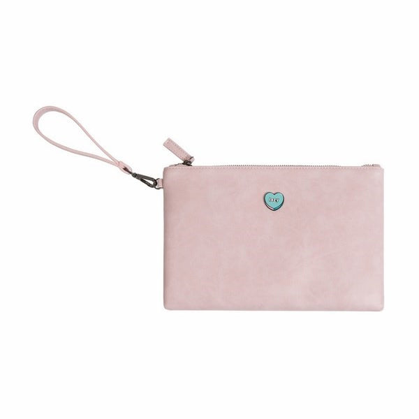 Moment [Heart Pill] Flat Case Pouch By Kiitos Life