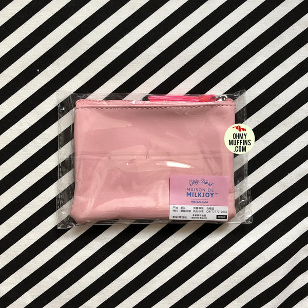 Sequins Pink Transparent Pouch By Bentoy