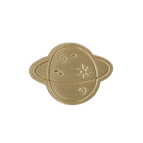 Hey Jude Planet Brass Pin By U-Pick X Somehow