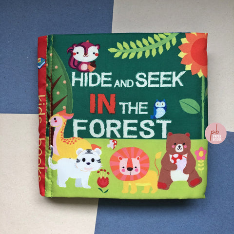 Hide And Seek In The Forest Cloth Baby Book