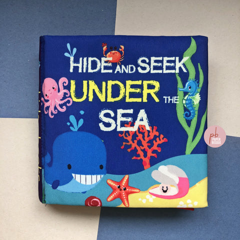 Hide And Seek Under The Sea Cloth Baby Book