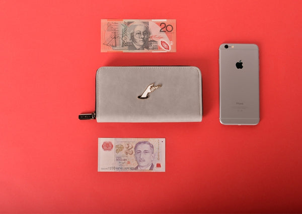 Hint Hand Long Wallet by Kiitos Life