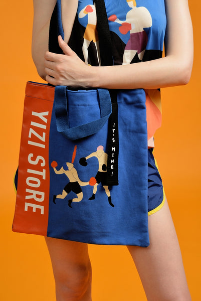 Boxing It's Mine Tote Bag By YIZI